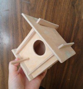 Домик для маленьких птичек