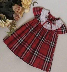 Новое хлопковое платье