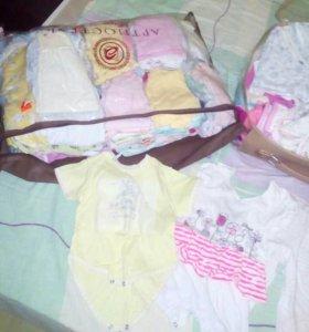 Вещи для новорожденного и до года