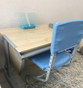 Продам растущую парту дэми + стул