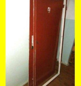 Бесплатно вывозим железные двери все