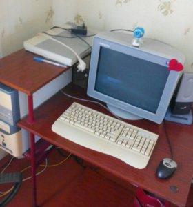 Полностью укомплектованный компьютер