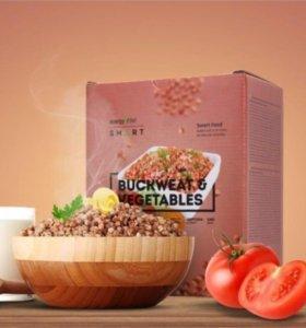 Energy Diet - Гречневая каша с овощами (умная еда)