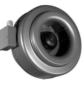 Вентилятор VKK 100m стальной круглый канальный