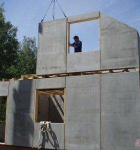 Легкий бетон, блок из Полистеролбетон, теплобетон