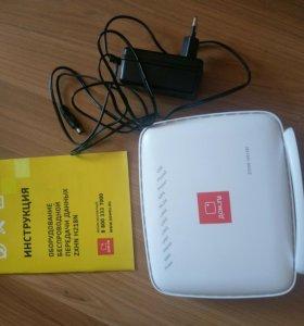 Тв приставка и Wi-Fi роутер дом.ру