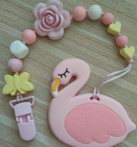Прорезыватель, грызунок Фламинго