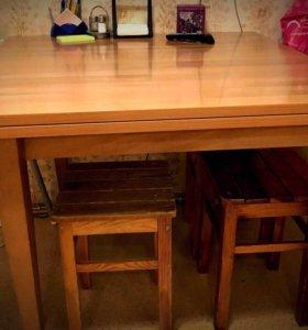 Кухонный стол книжка