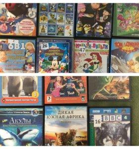 Диски DVD мультфильмы для детей