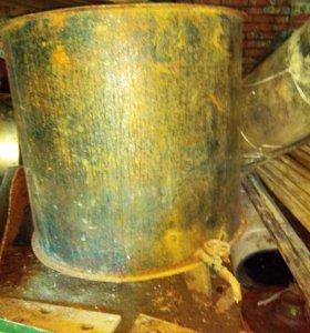Бак металлический под воду