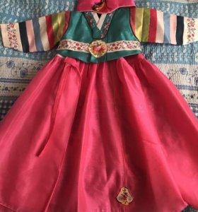 Корейский нац костюм