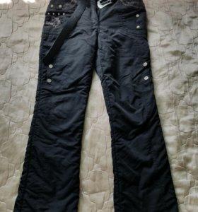 Теплые штаны для девушки
