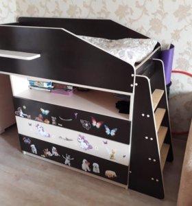 Кровать-чердак (Детская кровать)