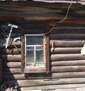 На дрова ветхий дом