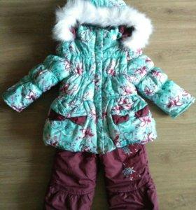 Детский комбинезон и куртка зима