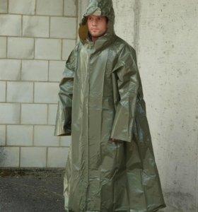 Плащ армейский непромокаемый