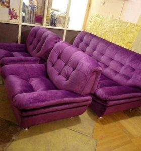 Перетяжка, ремонт мягкой мебели Юбилейная 19А