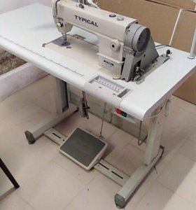 швейная машинка Typical GC1650M +лампа и стол