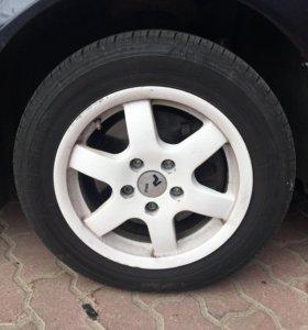 Диски шины комплект R15 Audi Volkswagen