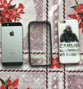 iPhone SE 32 Gb (на гарантии)
