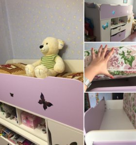 Срочная продажа! Детская кроватка для чудо-девочки