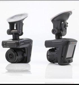 Видеорегистратор с Радаром и GPS 3в1. Ruccess STR