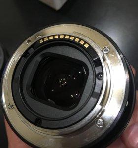 Объектив Sony SEL50F18 фильтром