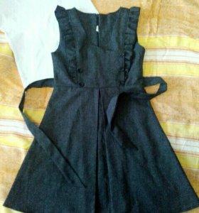 Сарафан, юбка для школы