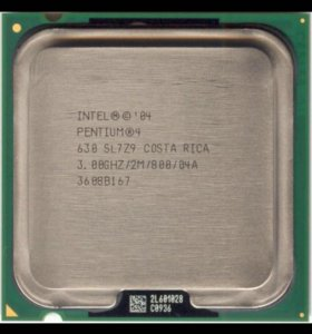 процессор Intel Pentium 4 630