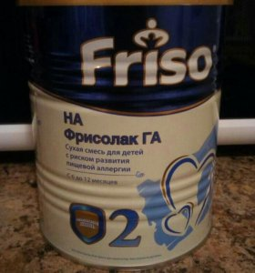 Смесь молочная Фрисолак ГА 2 (400гр) с 6 месяцев