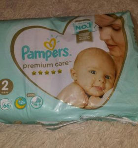 Подгузники pampers premium care