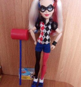 Кукла DC cuper hero girls Harley Quinn