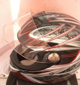 Продам мото шлем размер L 50-60 без царапин.