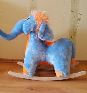 Качалка-слоник