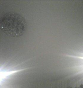 Бесшовные потолки, электрика
