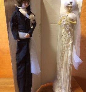 Фигуры жених и невеста