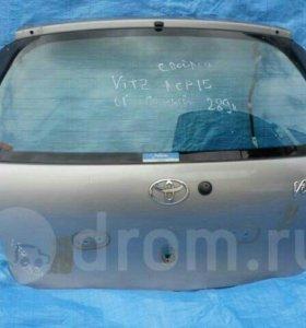 Дверь багажника Toyota Vitz NCP10, NCP15, SCP10, S