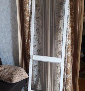 москитная сетка, дверь на балкон
