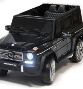 Электромобиль Mercedes Benz G65 Black