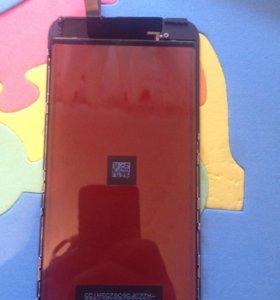 Запчасть для iPhone 6 Plus Дисплей + тачскрин
