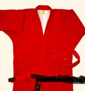 Куртка для самбо 146 см