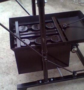Вибростанок для изготовления шлакоблоков