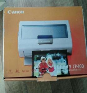 Canon selphy CP400, фотопринтер