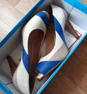 Туфли и балетки из нат, кожи