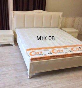 Кровать с матрасом. Доставка