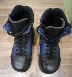 Ботинки ортопедические демисезонные утеплённые 25