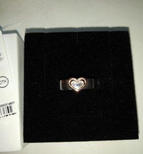 Кольцо серебряное, золотое с бриллиантами