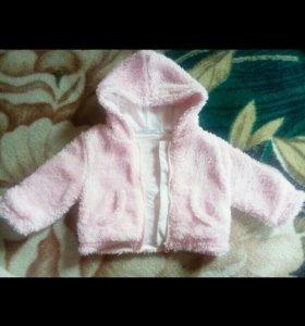 Курточка для девочки + подарок