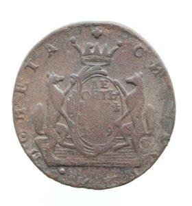 10 копеек 1769 КМ