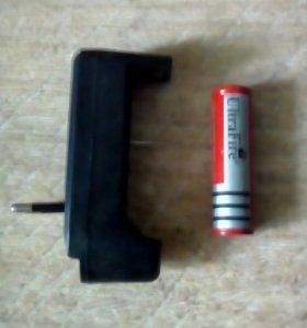 Батарея для лазера.